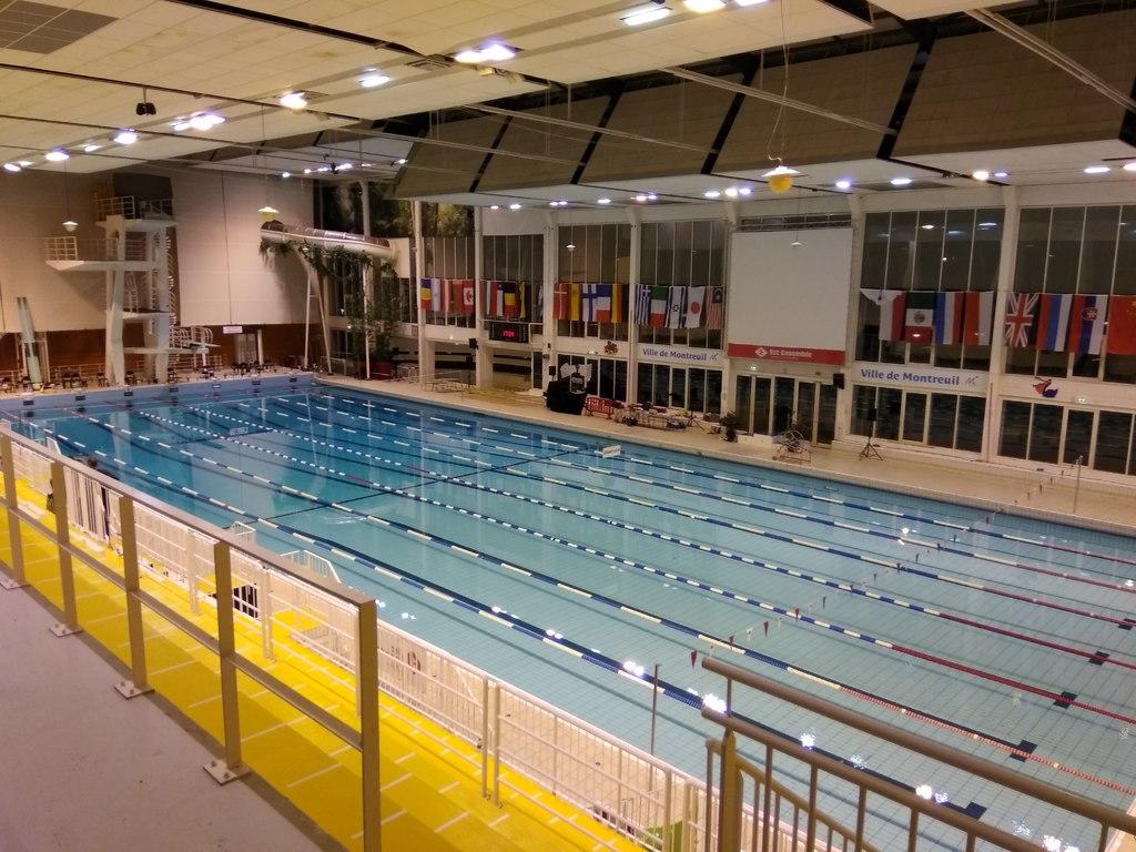 Championnats nationale 2 q1 montreuil bassin 50 m tres for Piscine sarcelles